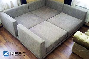 Прямой диваны - №928 - Небо-мебель - Нэкст
