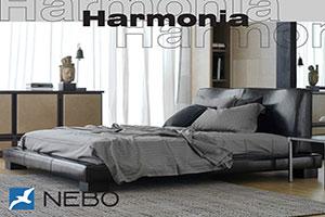 Кровать из кожи - №332 - Коно-Мебель - Гармония