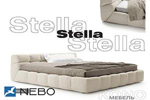 Кровать из кожи - №336 - Коно-Мебель - Стелла