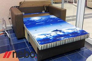 Прямой диваны - №150 - Небо-мебель - Квадро