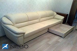 Прямой диваны - №889 - Небо-мебель - Лео