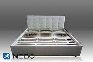 Кровать из кожи - №466 - Небо-мебель - Кровать