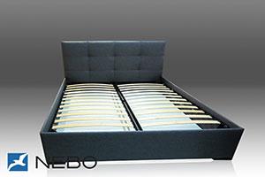 Кровать из кожи - №504 - Небо-мебель - Кровать