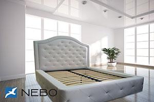 Кровать из кожи - №582 - Небо-мебель - Кровать