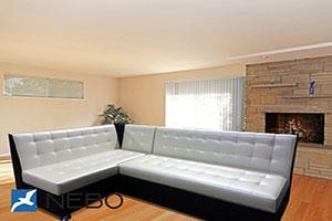 Диван для кухни - №604 - Стильная мебель - Мурано